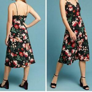 Anthropologie Autumnal  Slip Dress by Foxiedox